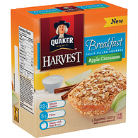 Harvest Granola Bars, Breakfast - Apple Cinnamon