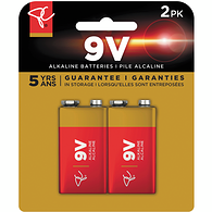 Alkaline Battery, 9V