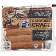 Montreal Style Smoked Meat Sausage