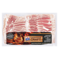 Canadian Craft Whisky Soaked Bacon