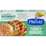 Turkey Burger, Previously Frozen