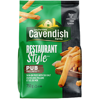 Cavendish Farms Restaurant Style Pub Fries (750G)