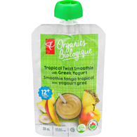Tropical Twist Smoothie With Greek Yogurt
