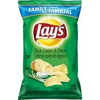 Potato Chips, Sour Cream & Onion