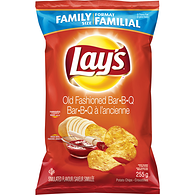 Potato Chips, Old Fashioned Bar-B-Q
