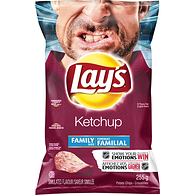 Potato Chips, Ketchup