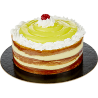 Cake, Creamy Lemon Custard