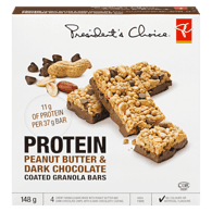 Protein Bar, Peanut Butter Dark Chocolate