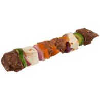 Haloumi and Beef Kebab