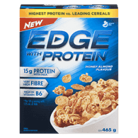 Edge Cereal with Protein, Honey