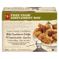 Free From Crisp & Crunchy Mild Southern-Style Chicken Wings