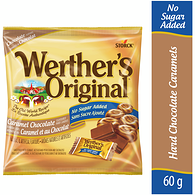 Original Caramel Chocolate Candies, No Sugar Added