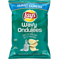 Wavy Potato Chips,  Salt & Vinegar