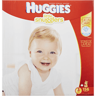Little Snugglers Diapers, Club Pack Size 3
