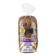 Amazing Grains Raisin Loaf
