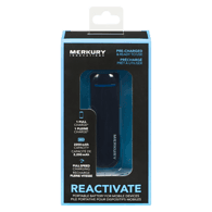 Reactive 2-Tone Power Bank, Black/Blue 2200 mAH