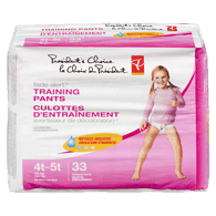 Training Pants, Girls Extra Large Mega 4T-5T