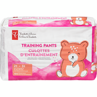 Training Pants, Girls Medium Mega 2T-3T