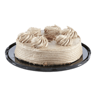 Cinnamon Swirl Single Layer Cake