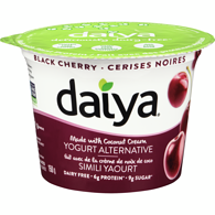 Greek Yogurt Alternative, Black Cherry