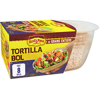 Bols tortillas, grains entiers