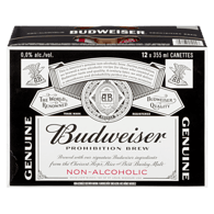 Prohibition Brew, Non-Alcoholic