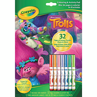 Colouring Activity Pad, Trolls