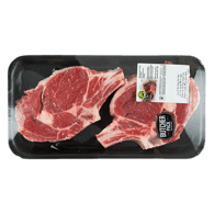 Beef Rib Steak, Cap Off Bone In Club Pack