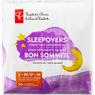 Sleepovers Nighttime Underwear For Girls