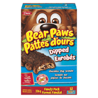 Bear Paw Dipped Chocolate Chip Cookie