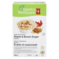 Organic Oatmeal, Maple