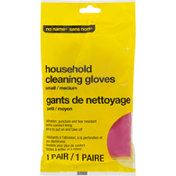 Silverline Latex Gloves, S/M