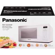 Microwave, 1.3 Cu. Ft. (NNSG656W) - White