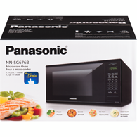 Genius Microwave 1.3 Cu. Ft. (NNSG676B) - Black