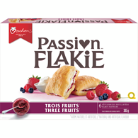 Flakie Pastry, 3 Fruits