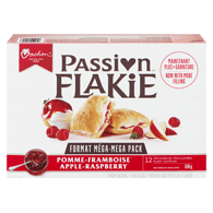 Flakie Pastry, Apple-Raspberry