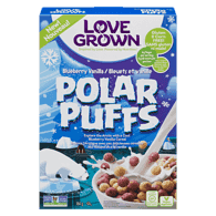 Polar Puffs Cereal