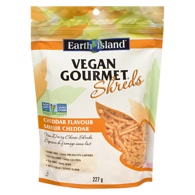 Earth Island Vegan Gourmet Shreds, Cheddar