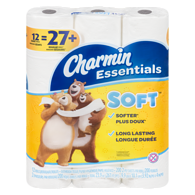 Charmin Essentials Soft, 12 rouleaux géants