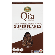 Qi'a Super Flakes Cereal, Cocoa Coconut