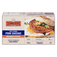 Fully Cooked Breakfast Sausage Rounds