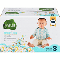 Baby Diapers, Size 3