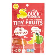 Little Ducks Tiny Fruits, Apple & Banana