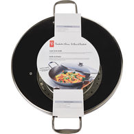 Cast Iron Wok with Lid