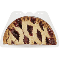 Half Lattice Pie, Cherry
