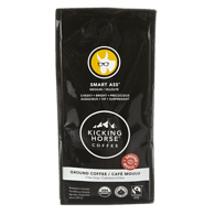 Organic Smart Ass Ground Coffee, Medium Roast