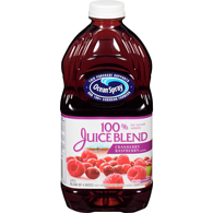100% Juice, Cranberry and Raspberry
