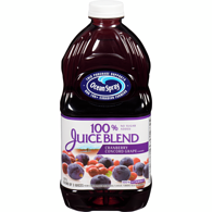 100% Juice, Cranberry and Grape