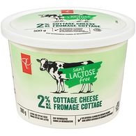 Cottage Cheese, Lactose Free