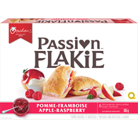 Passion Flakie Pastries, Apple-Raspberry